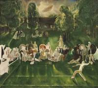 George Wesley Bellows~Tennis Tournament