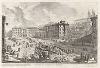 Giovanni Battista Piranesi~View of the Piazza di S