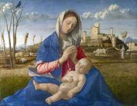 Giovanni Bellini~Madonna of the Meadow