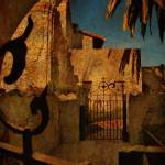 """urban charm : Mission San Gabriel - made of gates"" by tofu_minx"