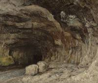 Gustave Courbet~Grotto of Sarrazine near Nans-sous