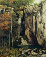 Gustave Courbet~The Chasm at Conches