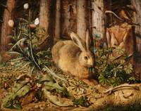 Hans Hoffmann~A Hare in the Forest