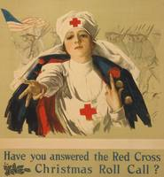 Harrison Fisher~Have You Answered the Red Cross Ch