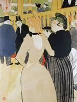 Henri de Toulouse-Lautrec~At the Moulin Rouge