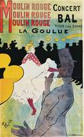 Henri de Toulouse-Lautrec~Moulin Rouge, La Goulue