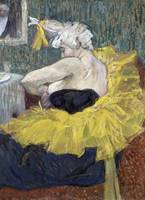 Henri de Toulouse-Lautrec~The Clown Cha-U-Kao