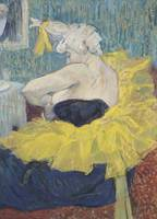 Henri de Toulouse-Lautrec~The Clowness Cha-U-Kao i
