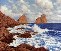 Ivan Choultsé~The Rocks at Capri