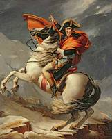 Jacques-Louis David~Napoleon Crossing the Alps on