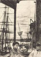 James McNeill Whistler~Rotherhithe