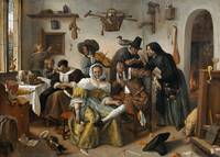 Jan Steen~Beware of Luxury (