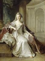 Jean-Marc Nattier~Madame Henriette de France as a