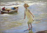 Joaquin Sorolla Y Bastida~Girl on the Beach