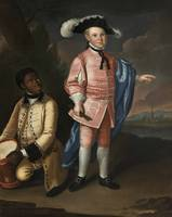 Johan Hesselius~Charles Calvert and his Slave