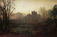 John Atkinson Grimshaw~An October Afterglow
