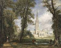 John Constable~Salisbury Cathedral from the Bishop