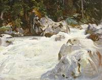 John Singer Sargent~A Torrent In Norway