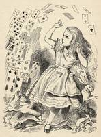 John Tenniel~Alice and the Pack of Cards, from 'Al