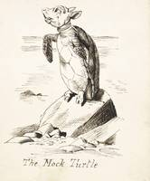 John Tenniel~The Mock Turtle'- The Mock Turtle Sob