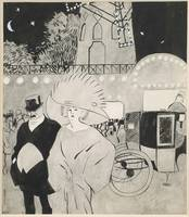Juan Gris~Outside the Moulin Rouge