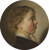 Judith Leyster~Young Boy in Profile