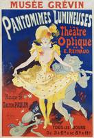 Jules Chéret~French Poster for Early Motion Pictur