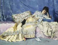 Julius LeBlanc Stewart~Lady on a Divan