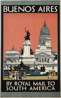 Kenneth Shoesmith~Buenos Aires - by Royal Mail to