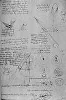 Leonardo da Vinci~Astronomical diagrams, from the