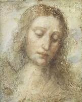 Leonardo da Vinci~Head of Christ