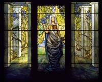 Louis Comfort Tiffany~Tiffany Studios, Woman in a