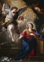 Luca Giordano~The Annunciation