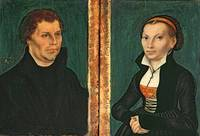 Lucas Cranach the Elder~Martin Luther, Katharina v