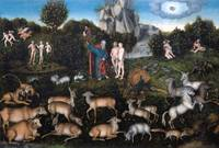 Lucas Cranach the Elder~The Garden of Eden