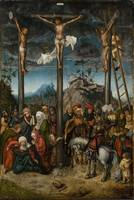 Lucas Cranach~The Crucifixion
