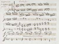 Ludwig van Beethoven~Manuscript of The Second and