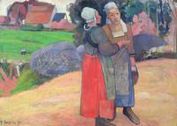 Paul Gauguin~Breton Peasants