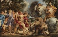Peter Paul Rubens~The Calydonian Boar Hunt