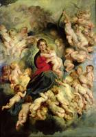 Peter Paul Rubens~The Virgin and Child surrounded