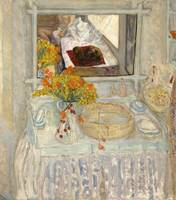Pierre Bonnard~Dressing Table and Mirror
