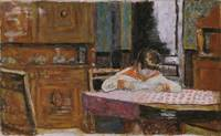 Pierre Bonnard~Interior with Boy