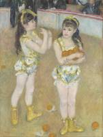Pierre-Auguste Renoir~Acrobats at the Cirque Ferna