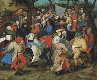 Pieter Brueghel II~The Peasants' Wedding