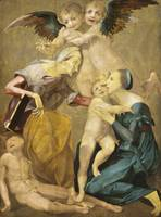 Rosso Fiorentino~Allegory of Salvation with the Vi