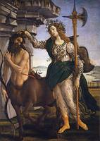 Sandro Botticelli~Pallas and the Centaur