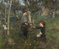 Sir James Guthrie~In the Orchard