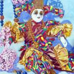 """Mardi Gras Harlequin"" by vanjames"