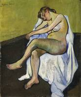 Suzanne Valadon~Seated Nude