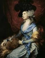 Thomas Gainsborough~Mrs Sarah Siddons, the actress